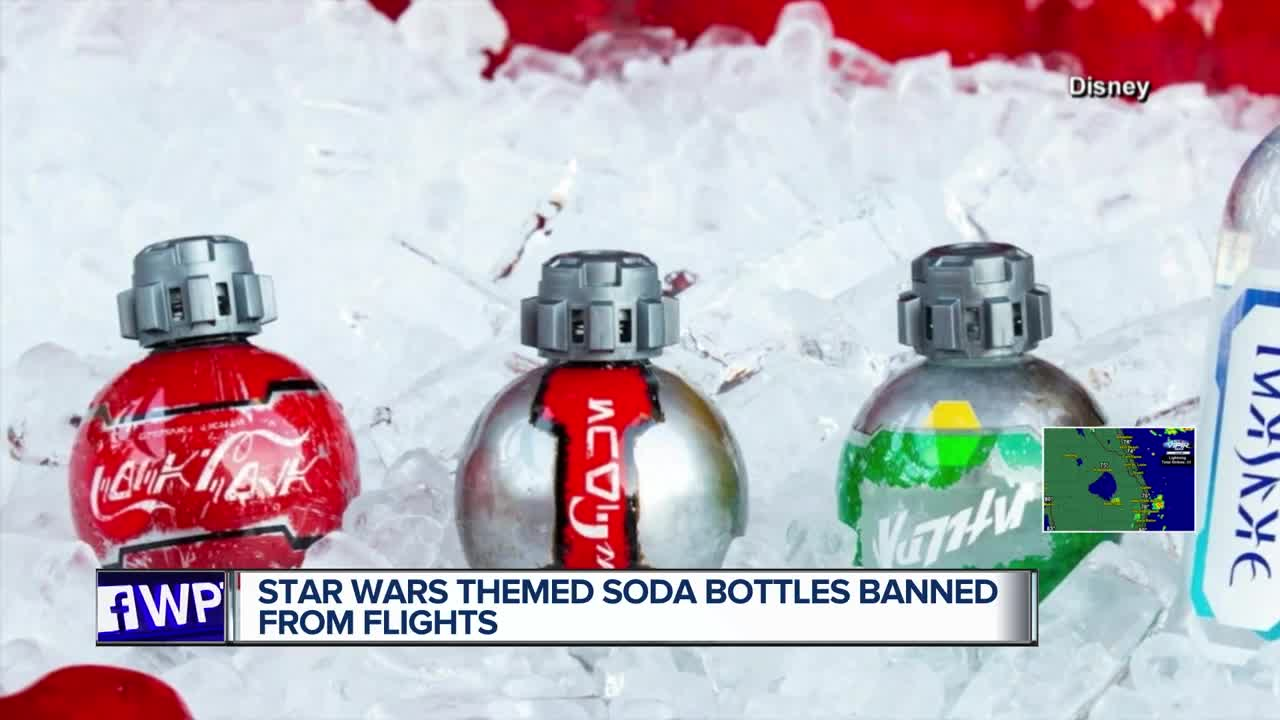 TSA bans Star Wars Coke bottles from Disney