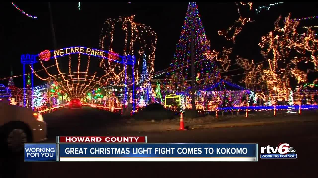 Kokomo Indiana Christmas Lights 2021 Watch Kokomo Christmas Light Show Outshines The Rest