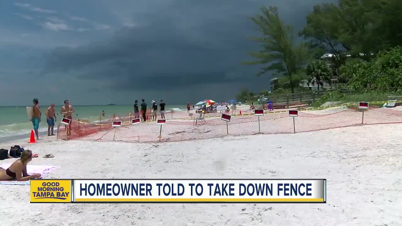 Fences on beaches cause uproar and confusion about new