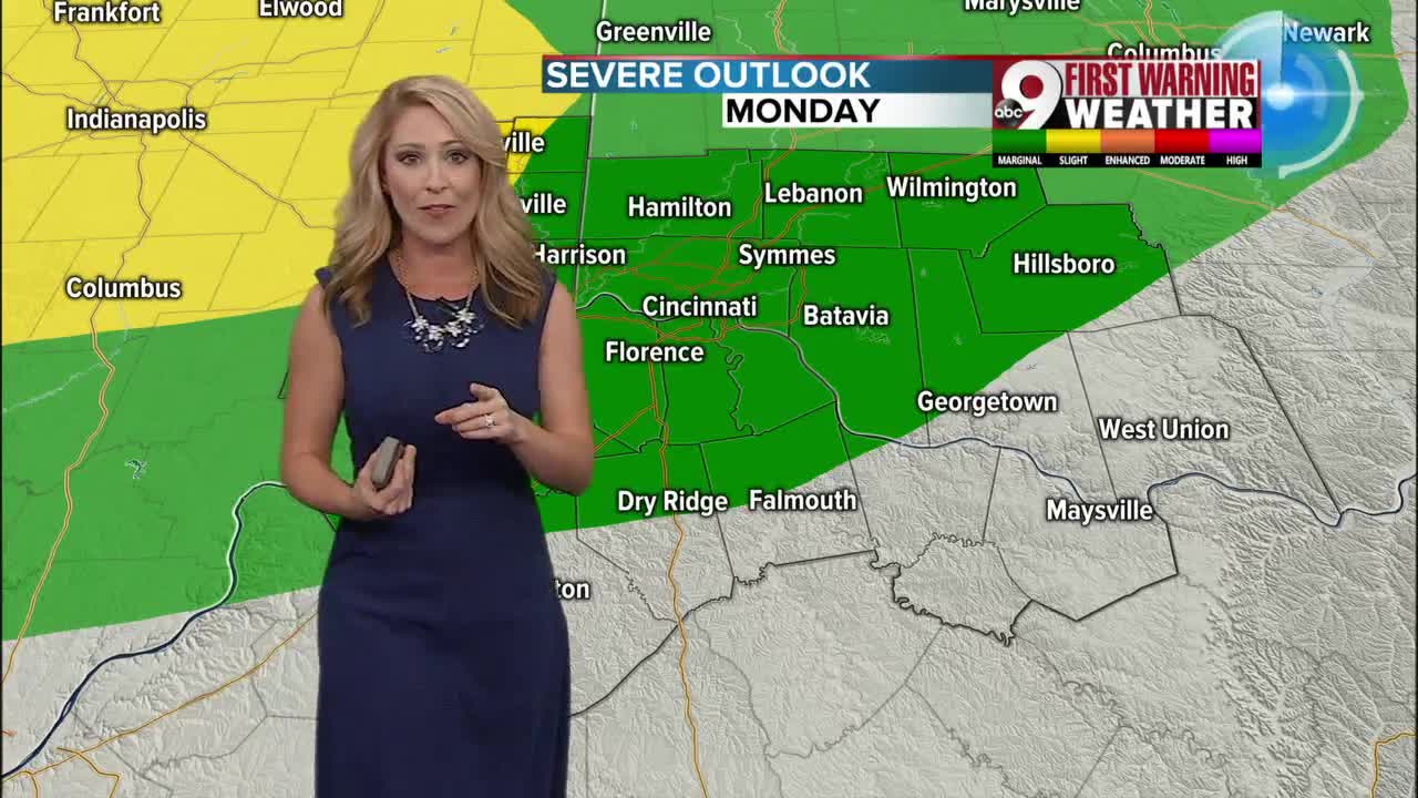 Strong to severe storms possible overnight
