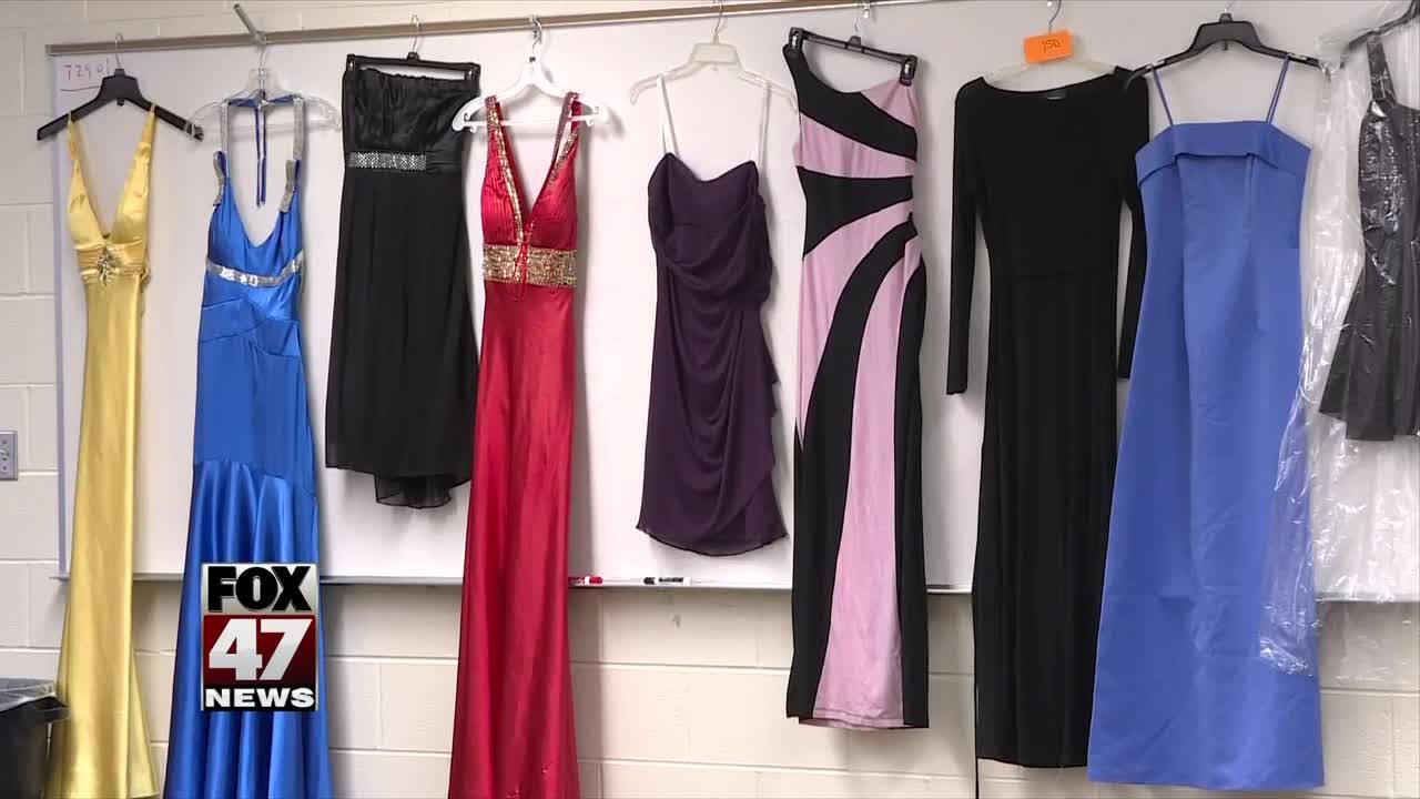 High school hosts prom dress giveaway