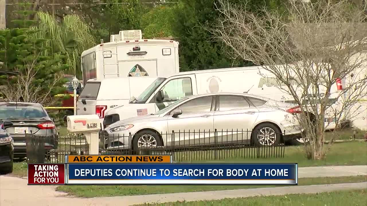 Man arrested for killing in-laws in Florida home and then