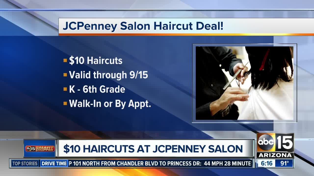 How To Get 10 Child Haircuts At Jcpenney Abc15 Arizona