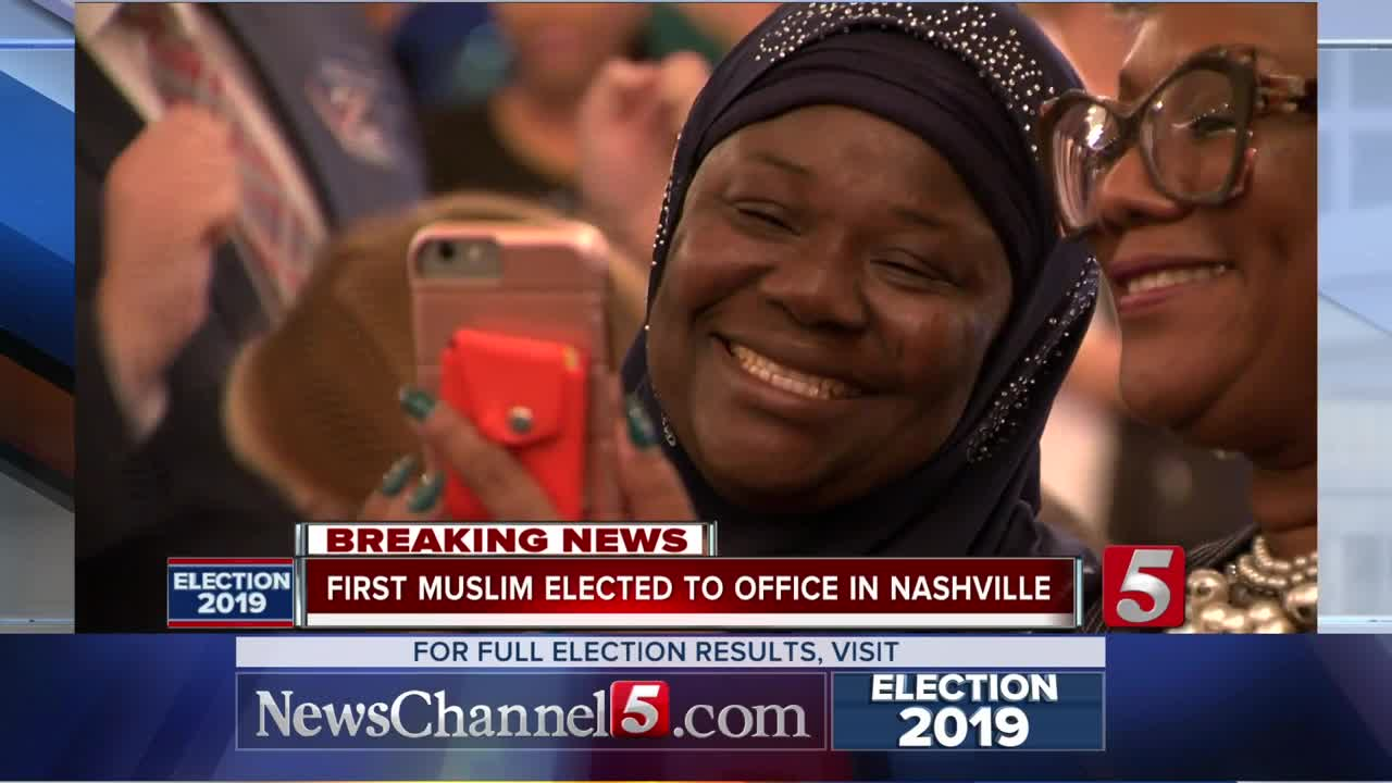 Image result for First Muslim Elected To Nashville Metro Council