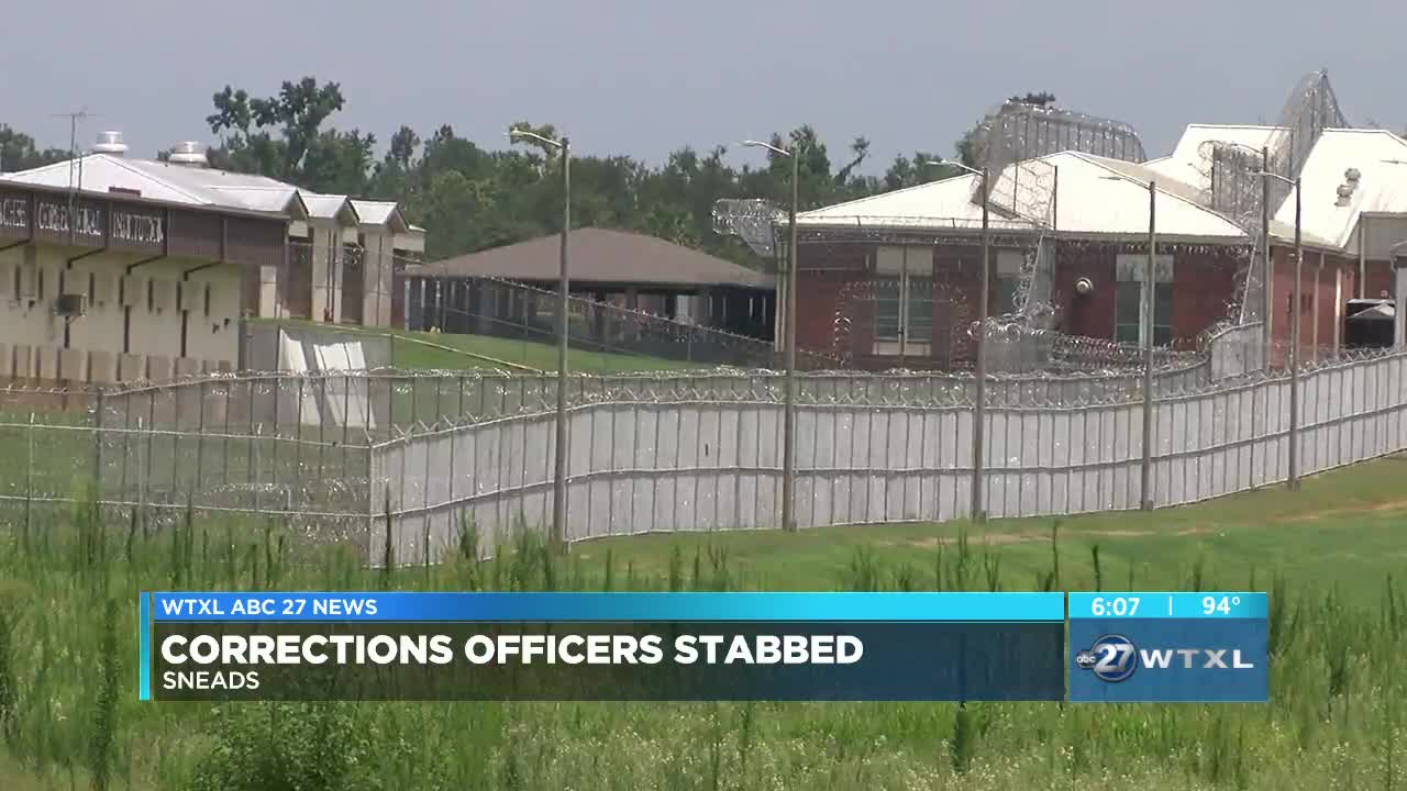 Local residents react to correctional officers stabbed at