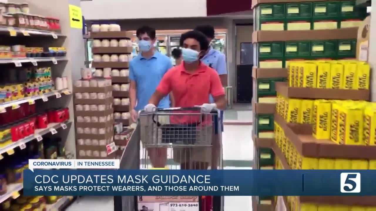 CDC report says masks now protect wearer as well as the public