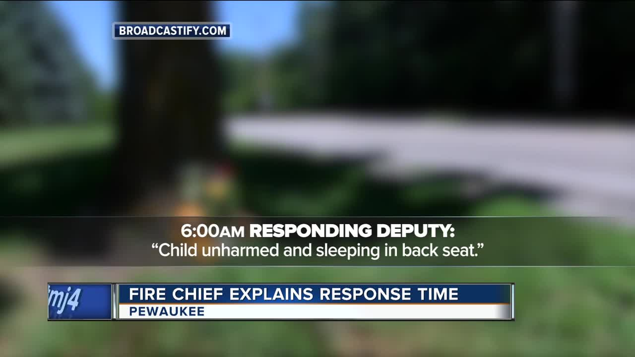 Pewaukee Fire Chief addresses delayed response time