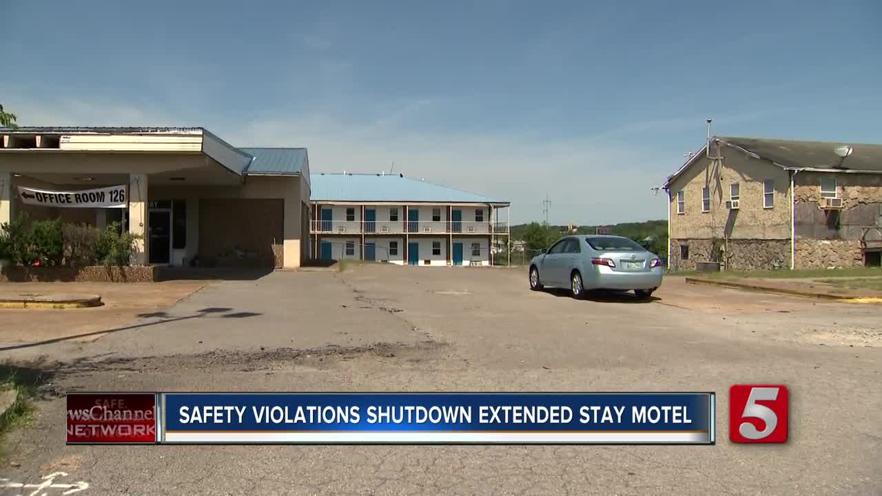 Tenants evicted after motel shut down over safety concerns