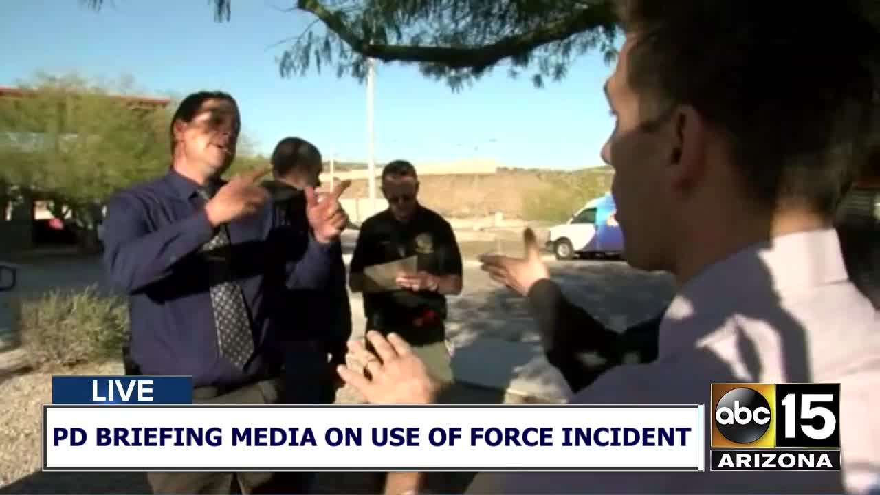 Abuse of Force: ABC15 confronts Glendale police about no