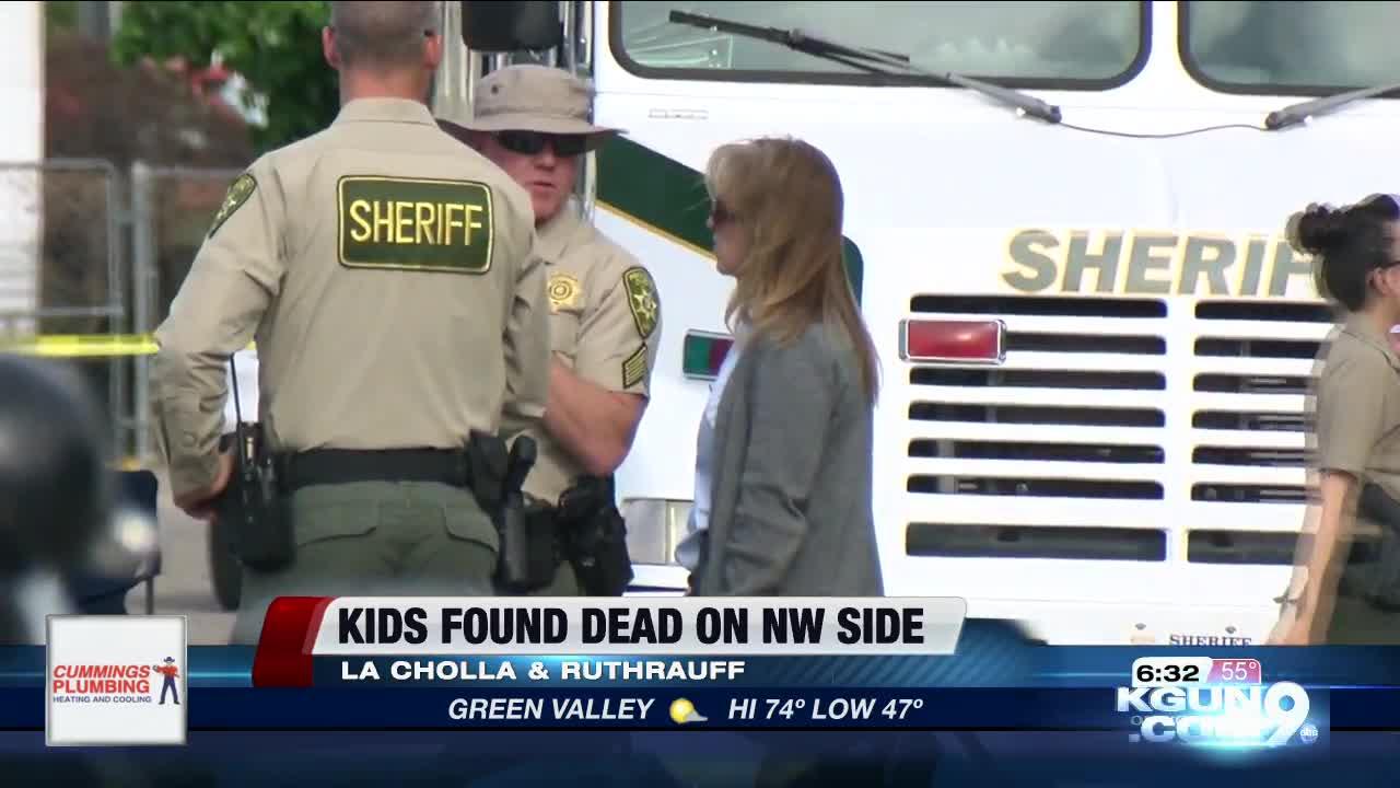 Two children found dead in west Tucson home