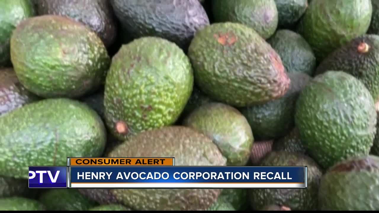 Avocados sold in Florida recalled over listeria concerns