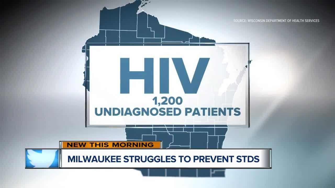 Half of all sexually active people in Milwaukee will contract a STD