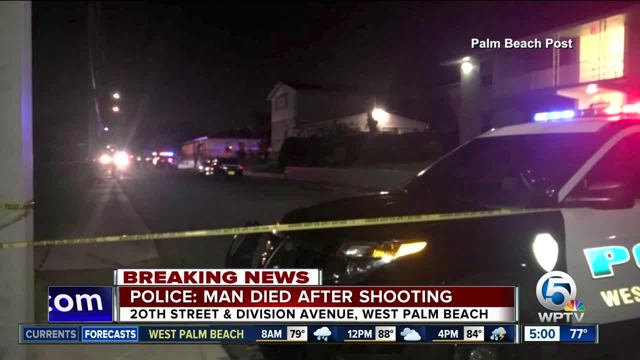 23-year-old man dies after Sunday night shooting in West Palm Beach