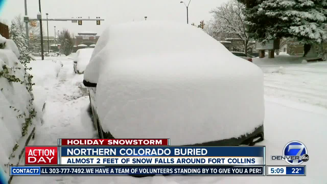 More Than 2 Feet Of Snow In Some Parts Of Colorado In
