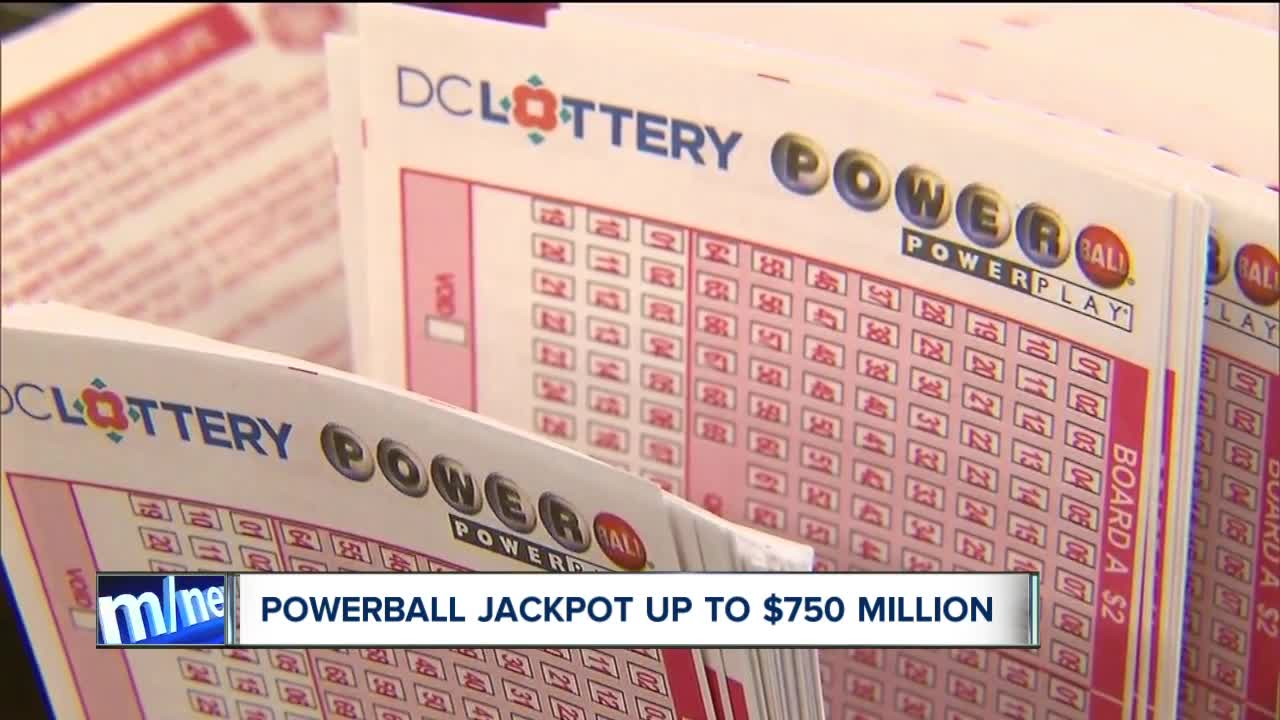 Everything You Need To Know About The 750 Million Powerball Jackpot