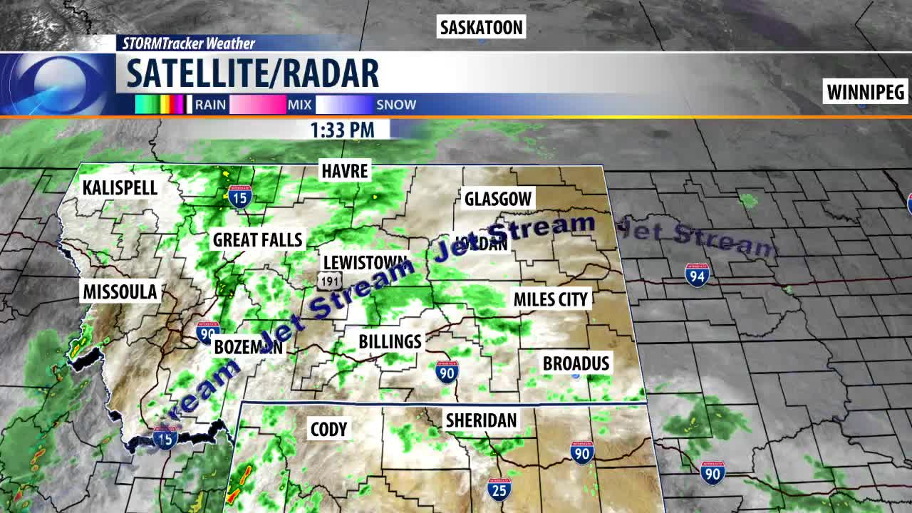 Q2 Weather: Major weather pattern change for Billings this
