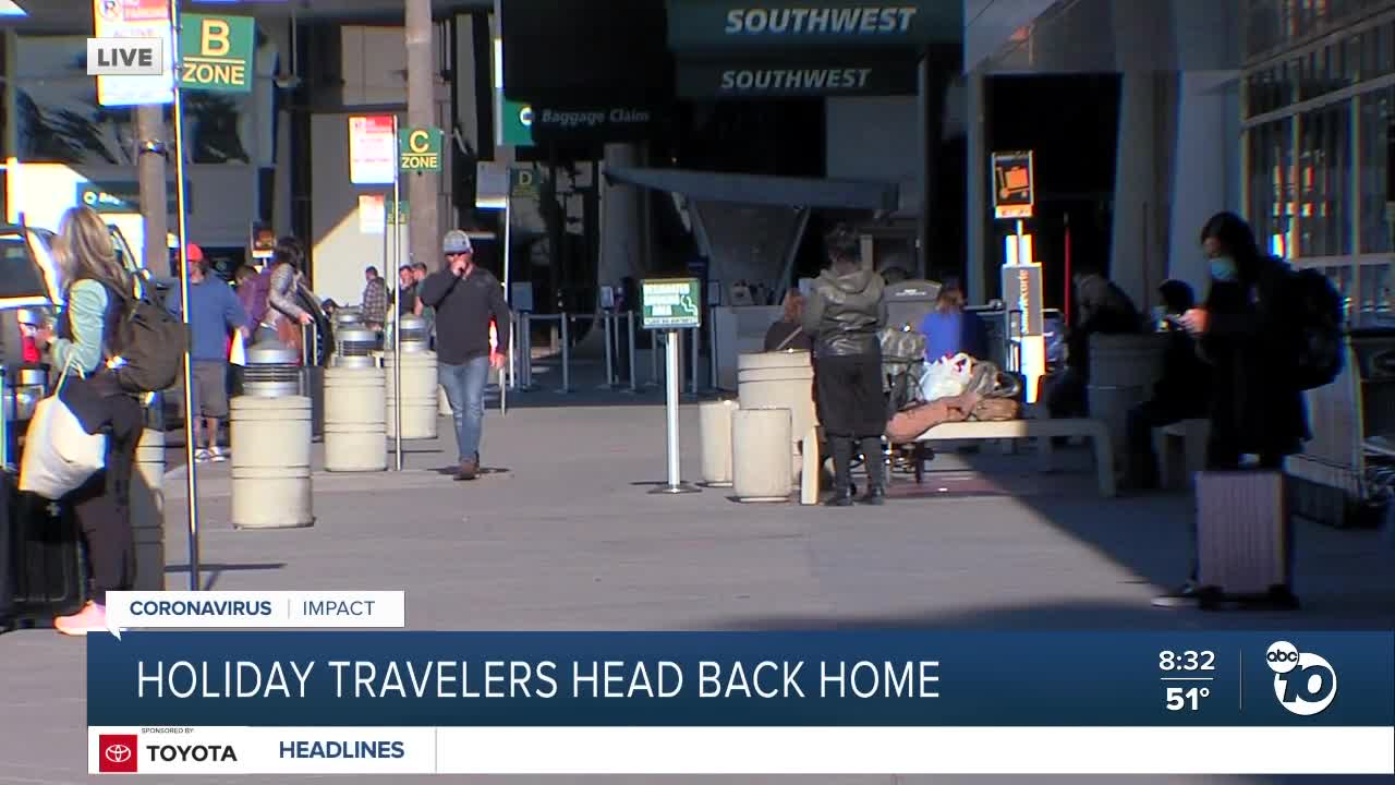 Sunday to be busiest day for travel on Thanksgiving weekend, despite pandemic