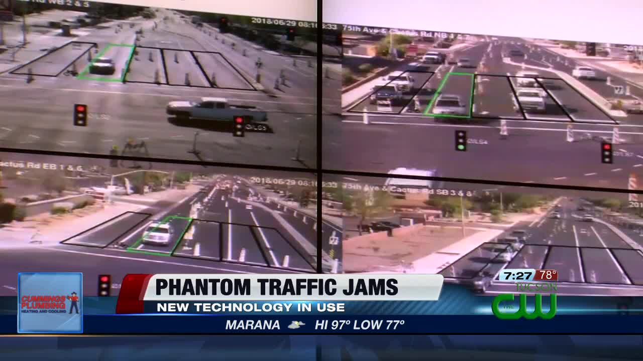 New technology in place to prevent phantom traffic jams