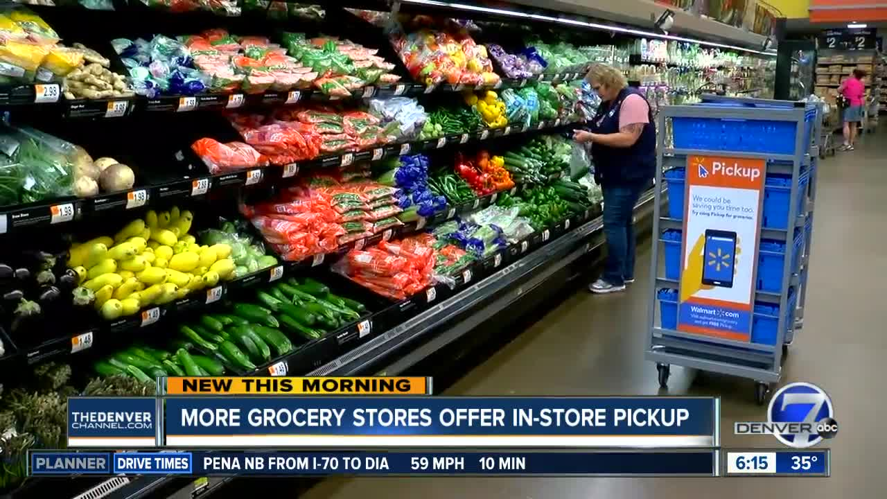More Denver grocery stores offering in-store pick-up, with