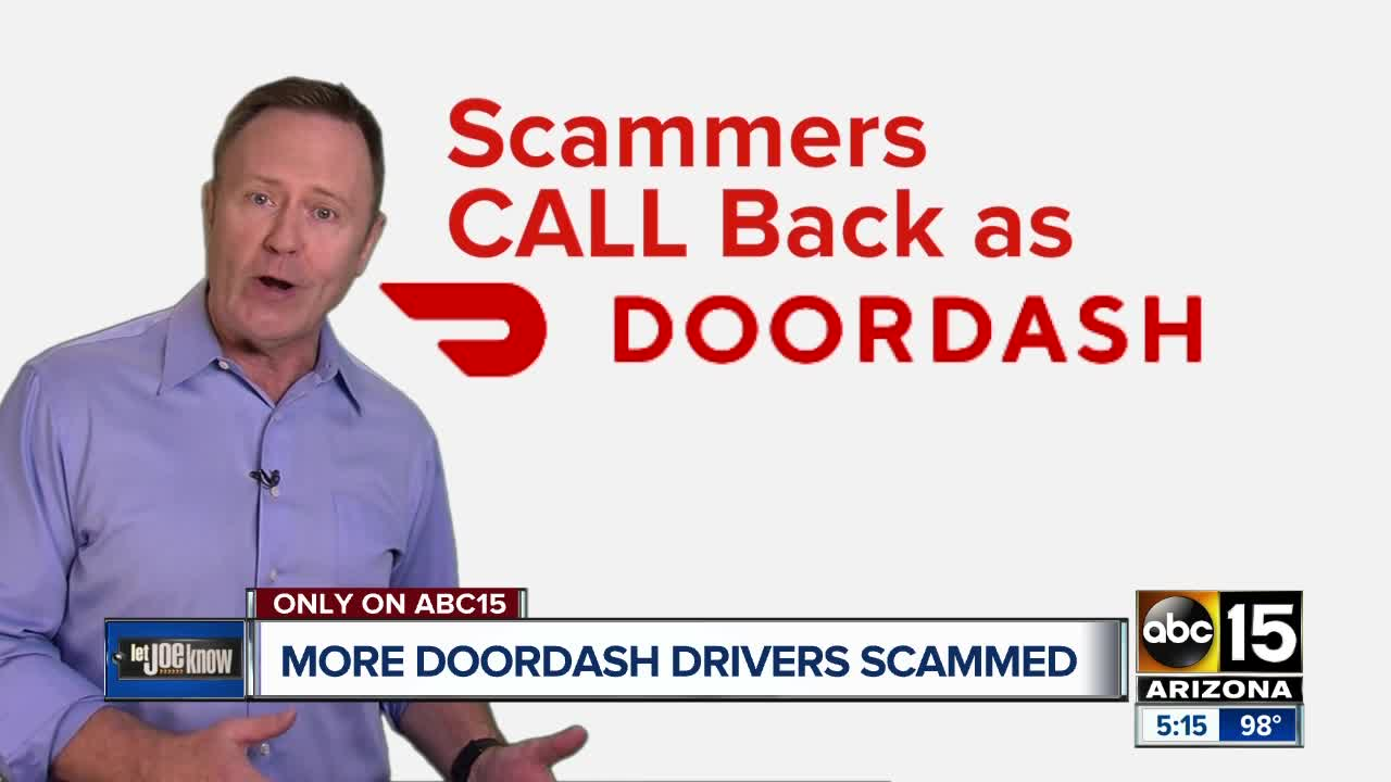 More DoorDash drivers scammed out of pay