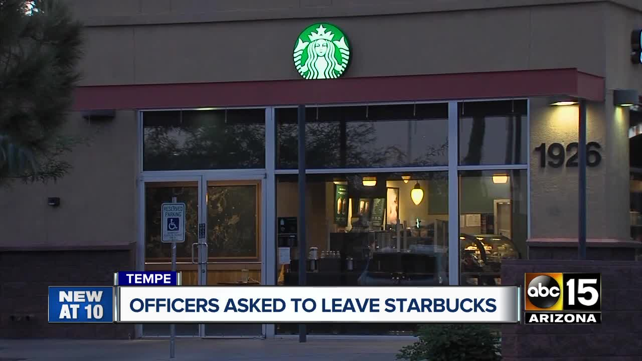 Police Reportedly Asked to Leave Arizona Starbucks Because Customer Felt Unsafe