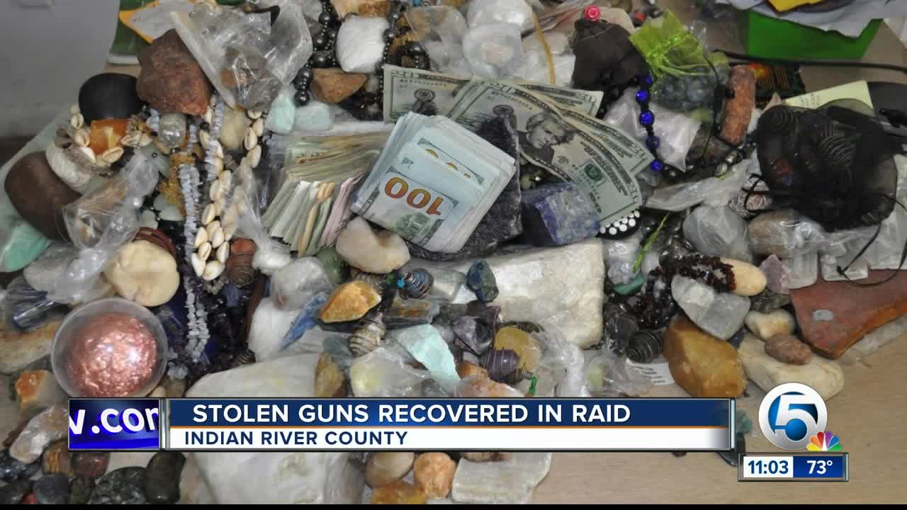 SWAT Team and detectives raid 'drug den' in Indian River County