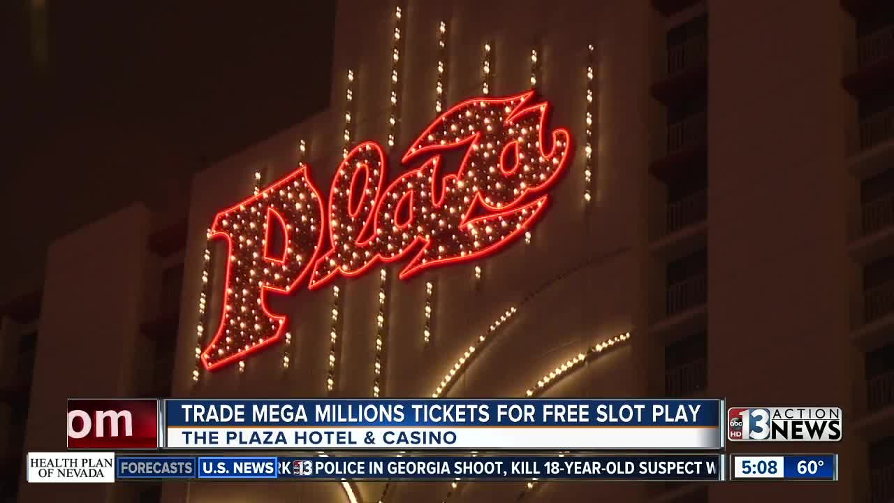 Free pizza and free slot play for Mega Millions losers