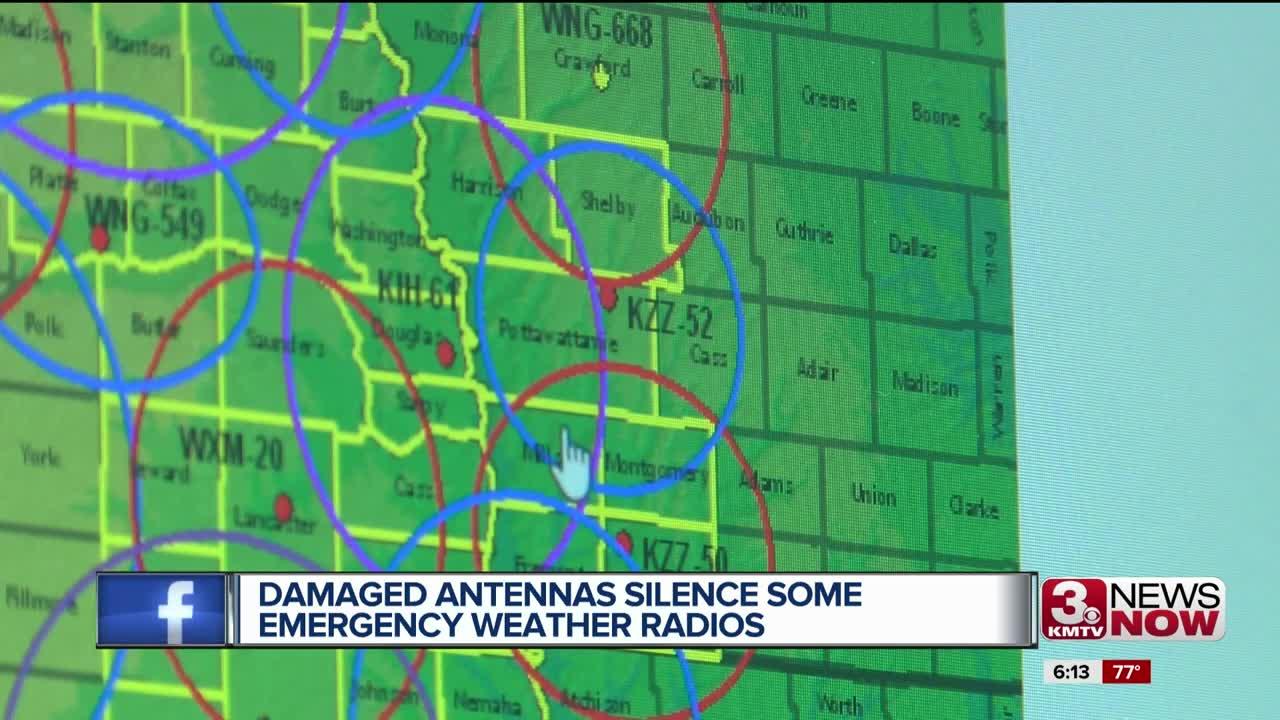 Weather radio users near Shubert, NE and Hancock, IA advised to seek