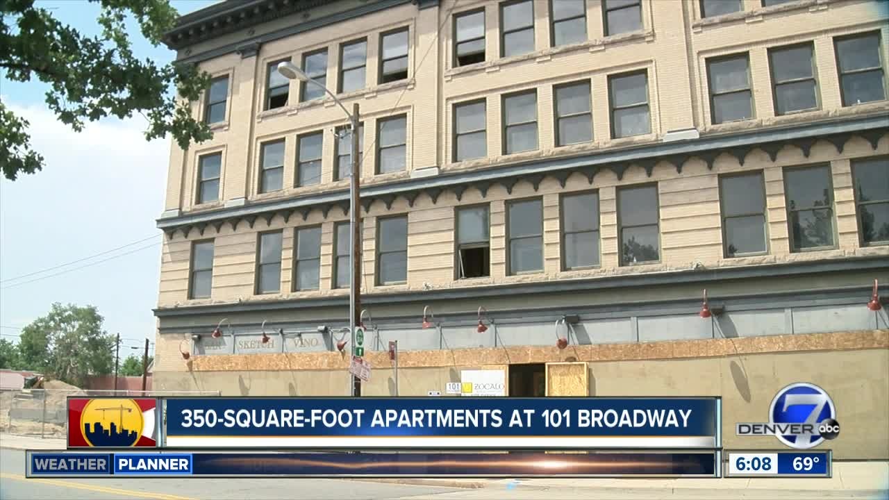 Historic 101 Broadway To Become Affordable Micro Apartments And Retail E