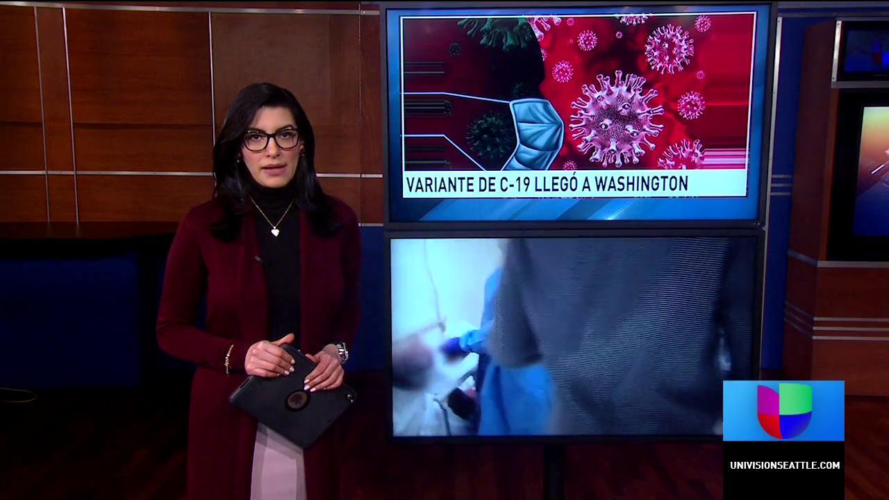 Nueva cepa británica detectada en el estado de Washington