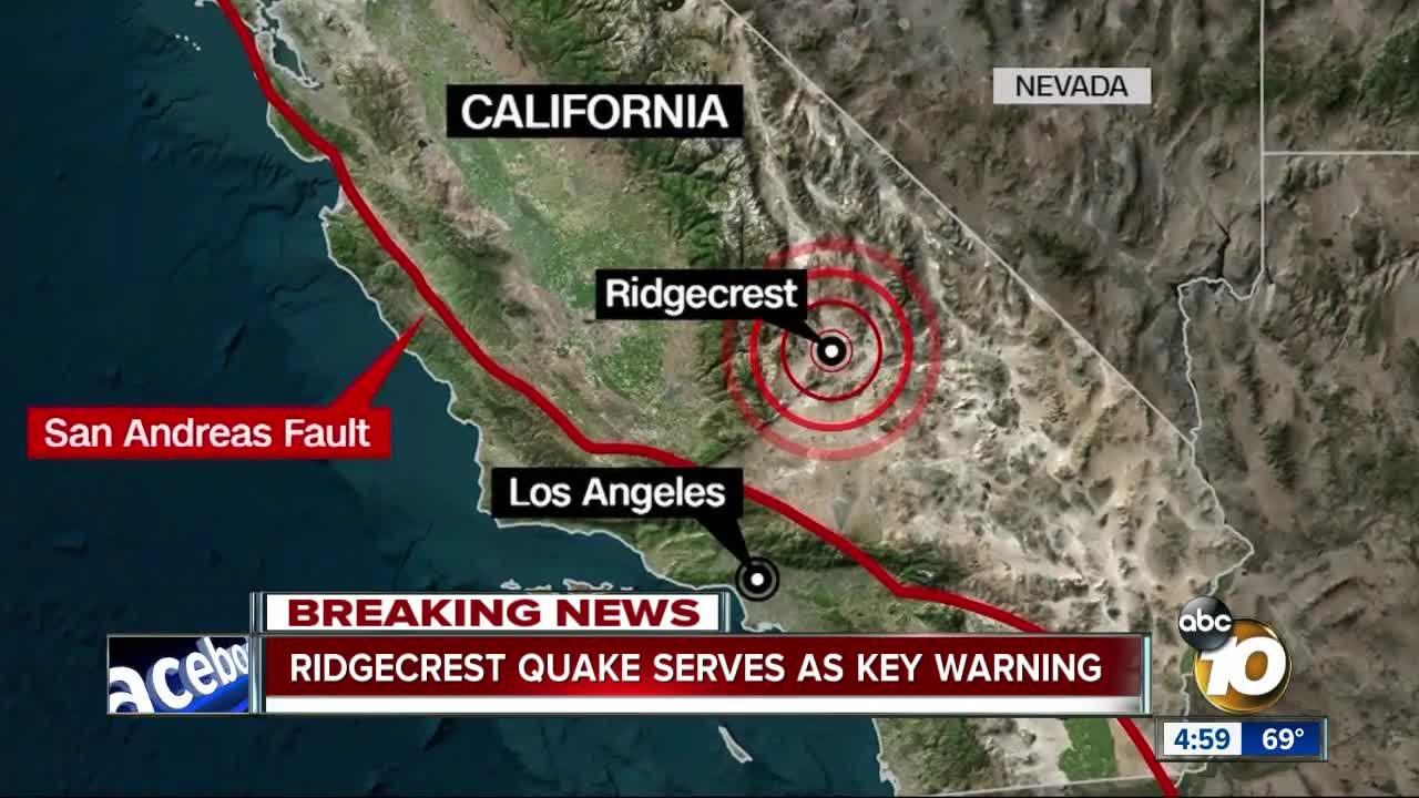 6 4-magnitude earthquake rattles July 4th for Southern