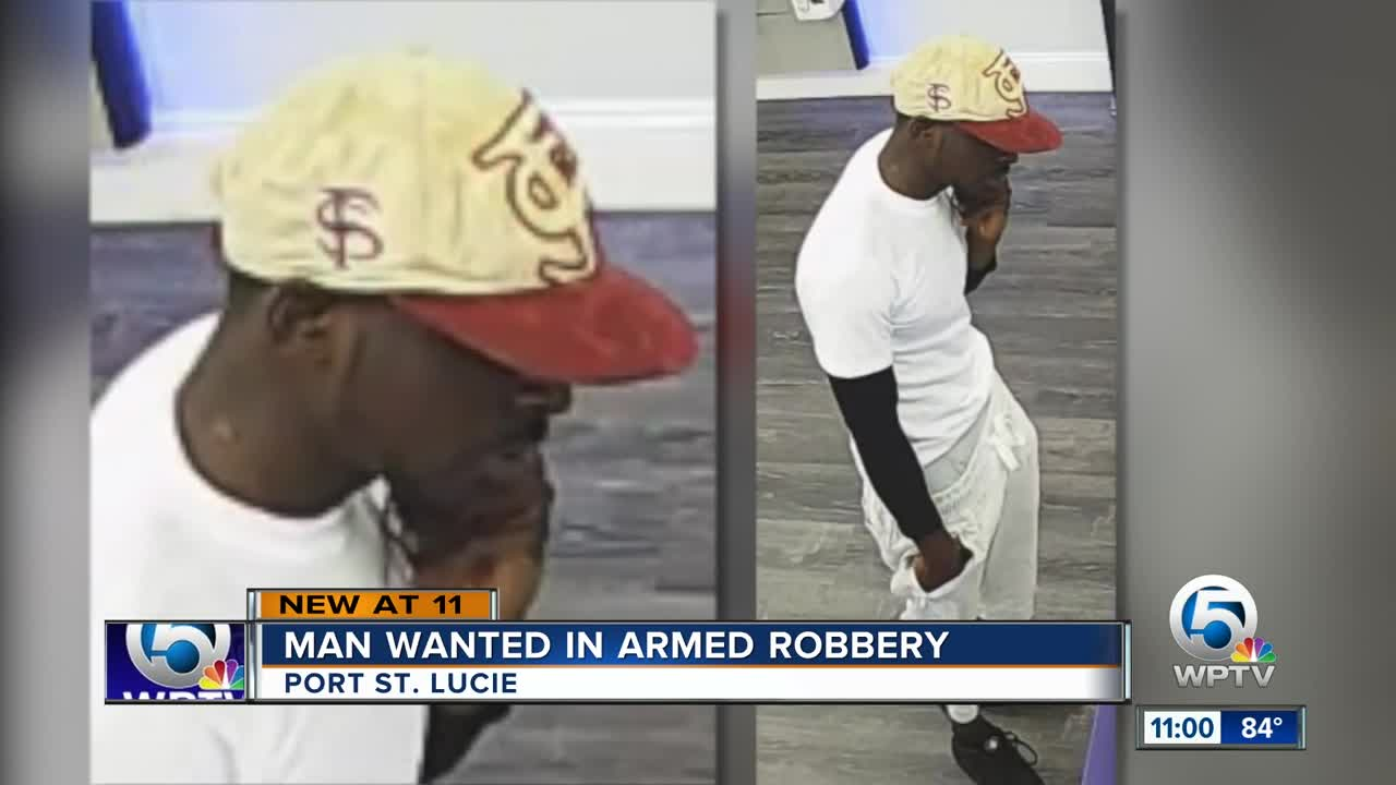 Suspect in Port St  Lucie MetroPCS armed robbery sought