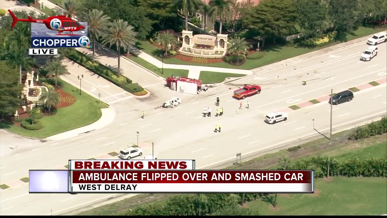 Car driver ID'd in deadly crash with Palm Beach County Fire