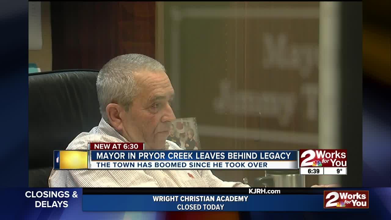 Longtime Pryor Creek mayor reflects on career before retiring