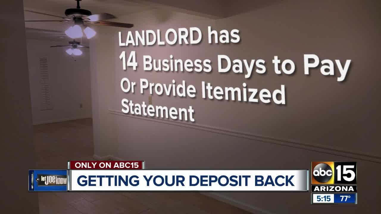 When can a landlord keep your deposit? Here's how to get