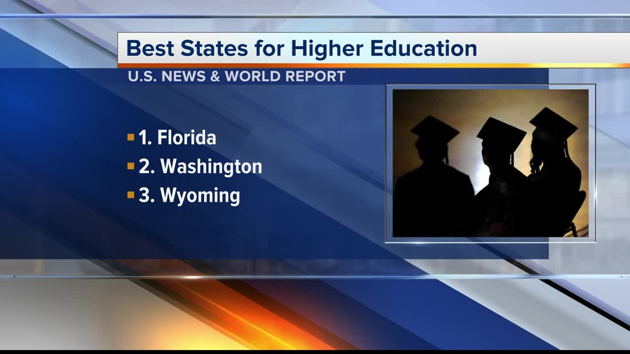 The Best And Worst Education News In >> Florida No 1 In The Nation For Higher Education According To U S