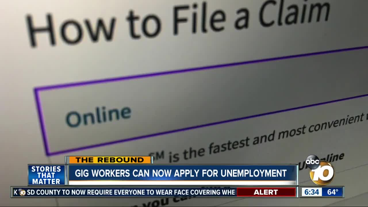 State launches website to help self-employed workers apply for benefits