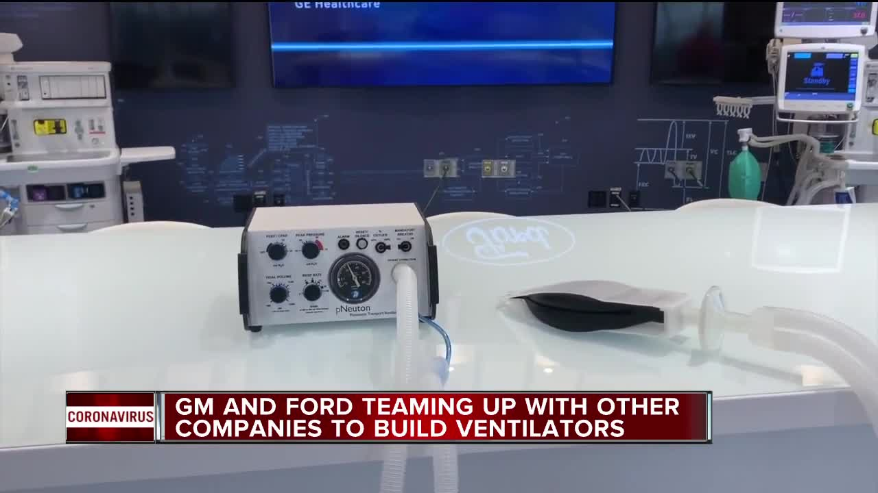 Ford helping produce 50,000 ventilators at MI plant in 100 days