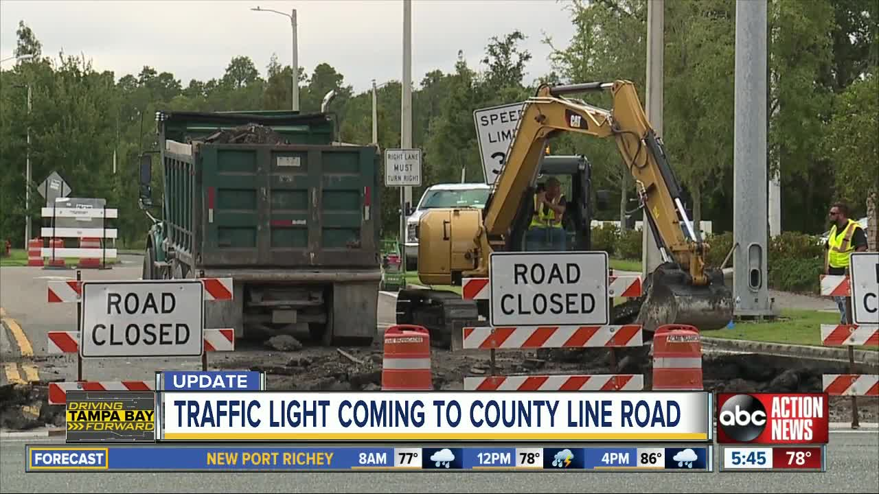 New traffic signal coming to busy stretch of County Line Road