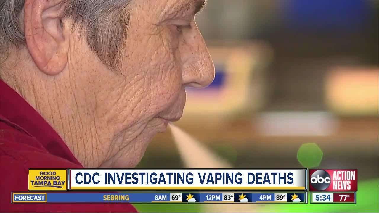 Seven die of vaping-related illness