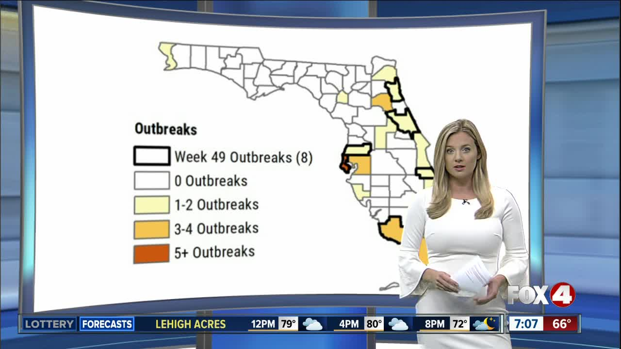 Widespread flu activity across the country