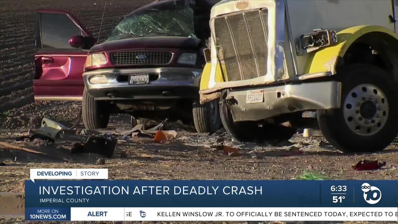 At least 13 dead in California crash involving truck
