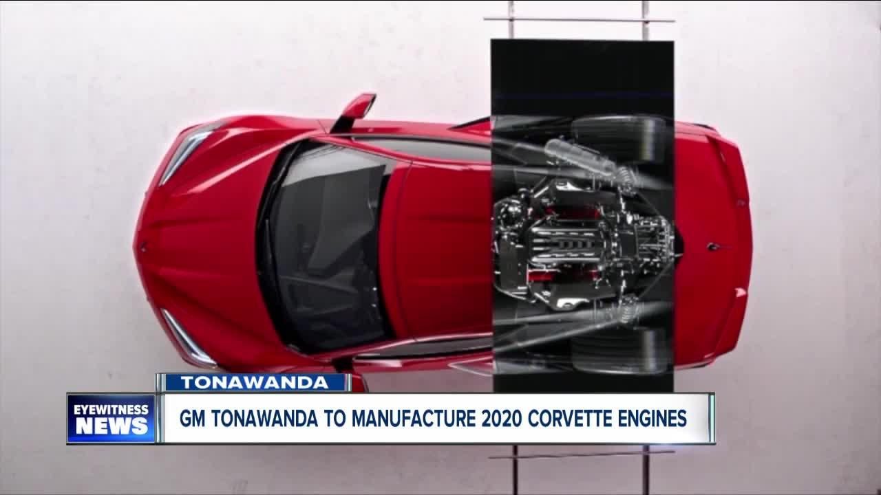 2020 Chevrolet Corvette Engines Will Be Built In Tonawanda