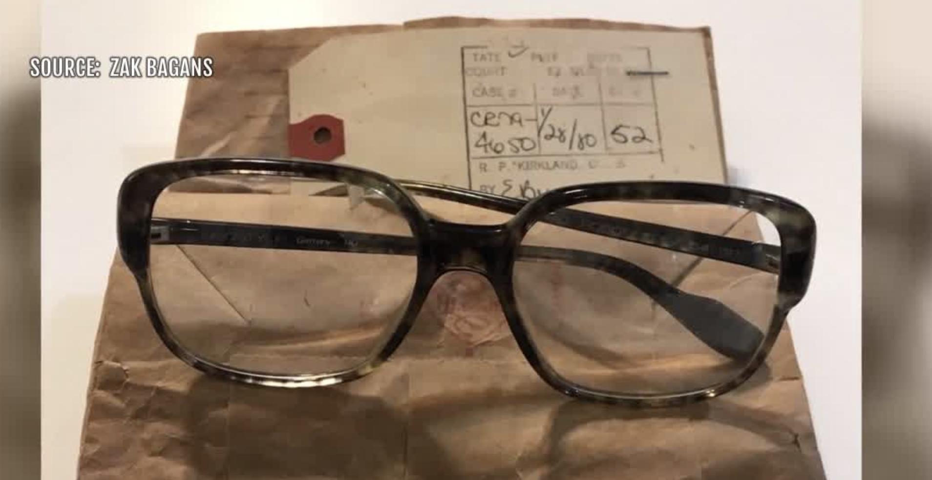Zak Bagans buys serial killer Ted Bundy's glasses for Las