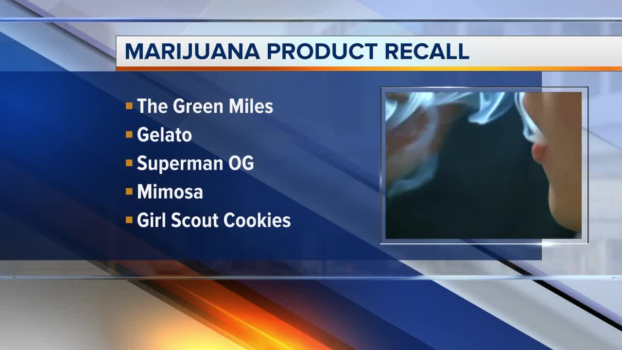 Marijuana products recalled in Detroit & Kalamazoo after failing lab