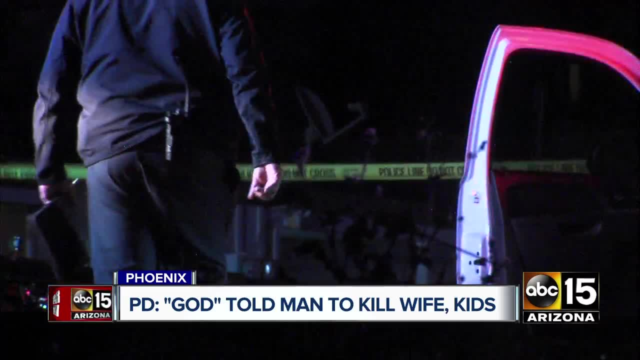 Man Arrested on Suspicion of Killing Wife, Daughters and Man