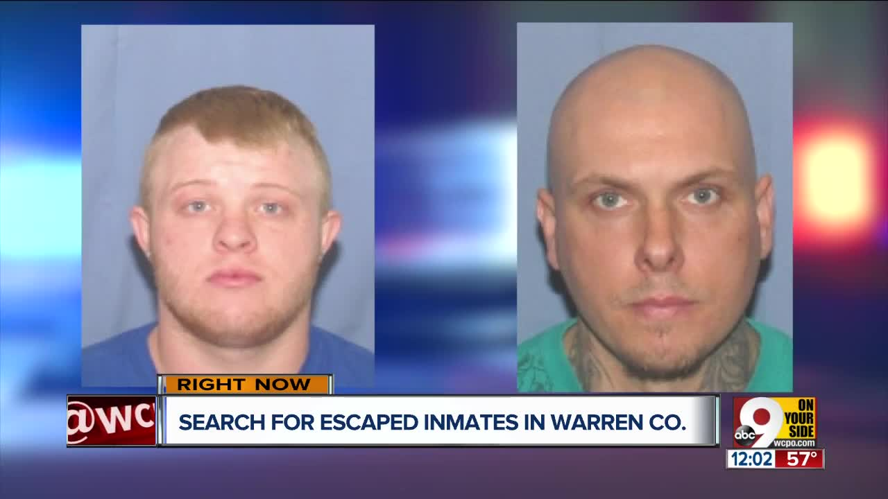 Sheriff: 1 inmate recaptured after 2 escape from Community