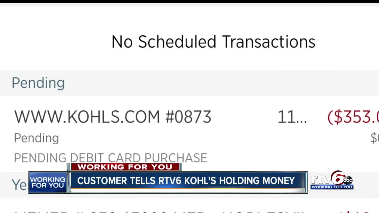 customers claim kohl's is holding money for canceled black friday deals