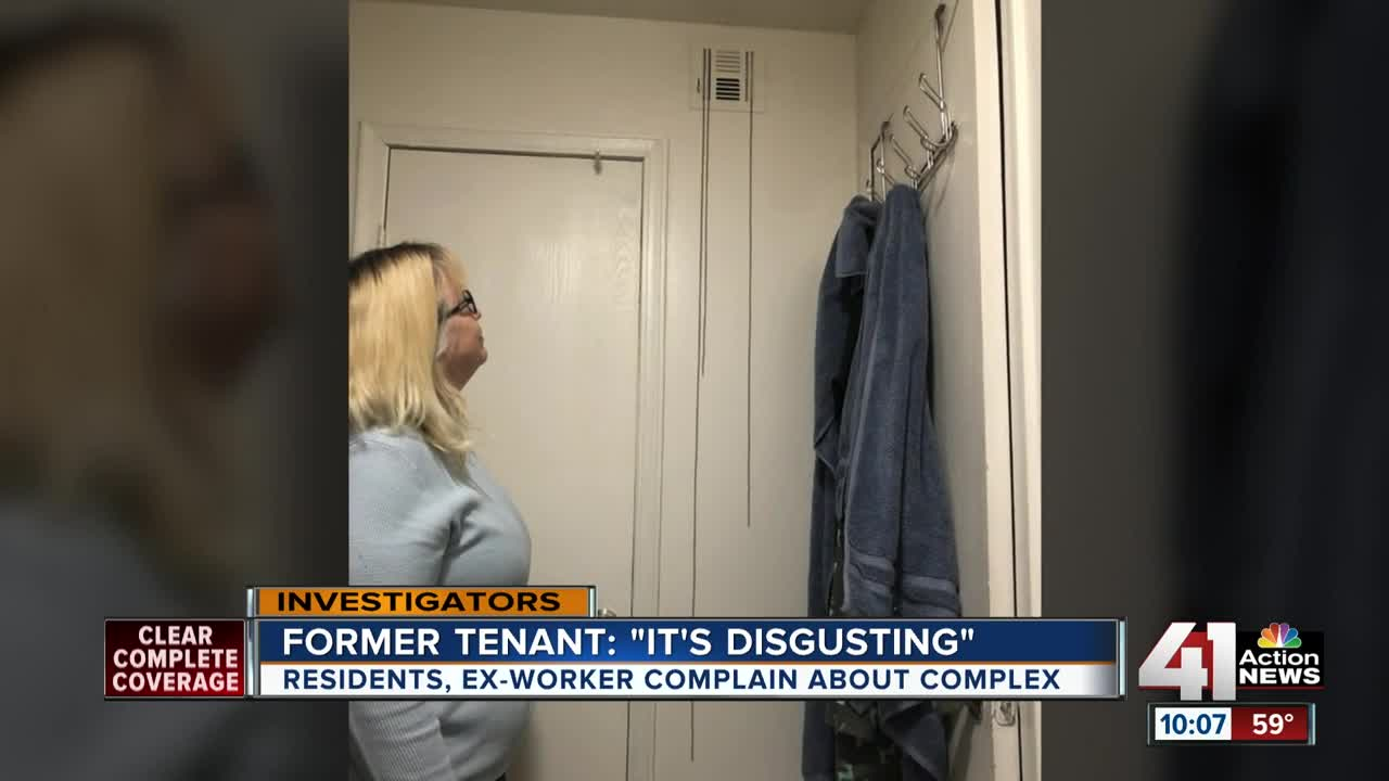 Tenants of Overland Park apartment complex battle issues