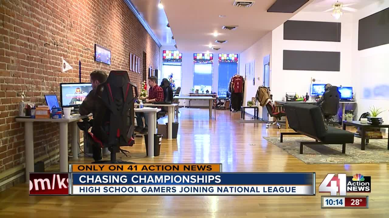 Kansas City Friends Behind Popular High School Esports League
